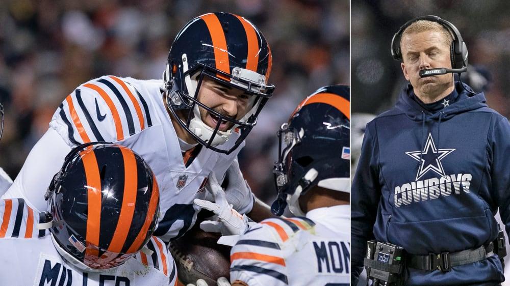 Cowboys am Boden: Überragender Trubisky lässt Chicago wieder hoffen - NFL, Week 14: Bears schlagen Dallas