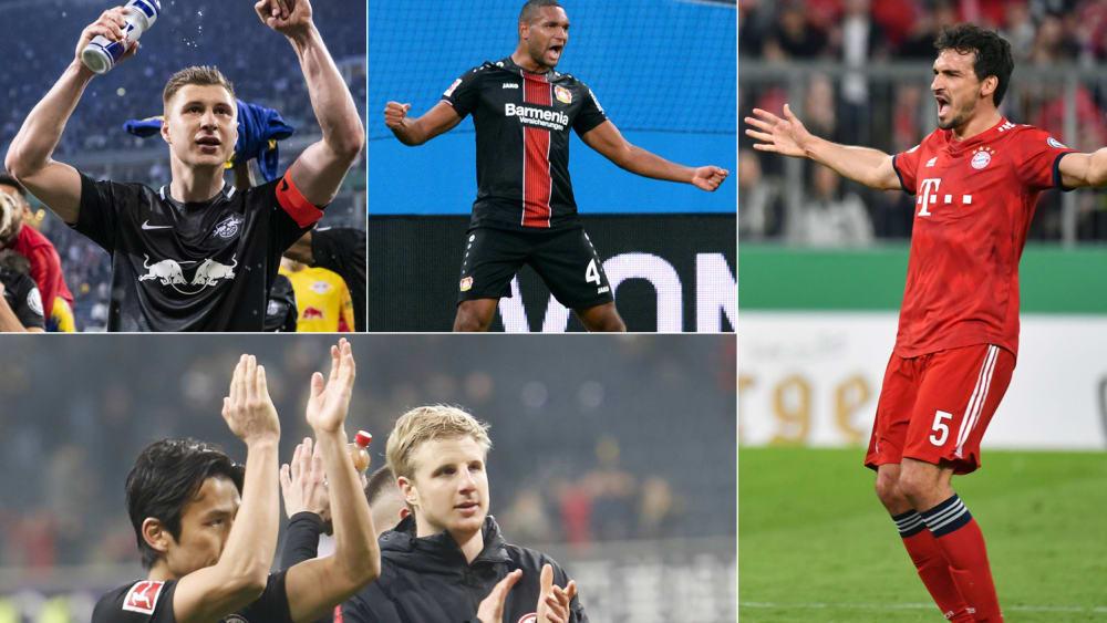 Die besten Innenverteidiger der Bundesliga