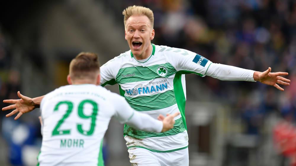 Greuther Fürth gewinnt 5:1 gegen Karlsruhe