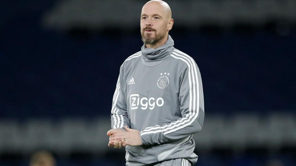 Erik ten Hag trainiert aktuell und seit Dezember 2017 Ajax Amsterdam.