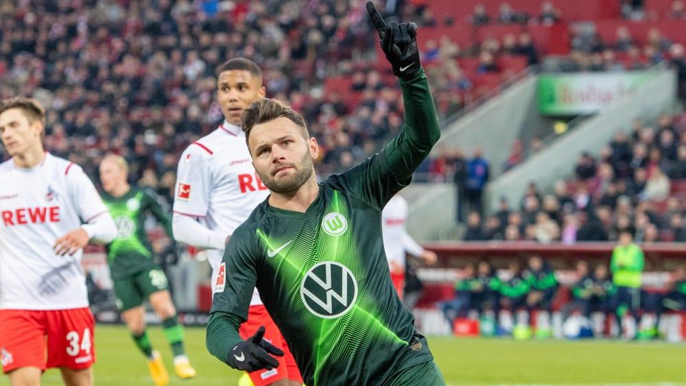 Wolfsburgs Offensivspieler Renato Steffen