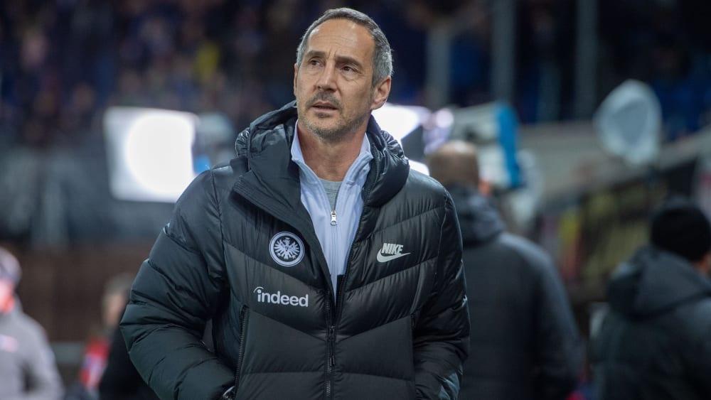 Eintracht-Coach Adi Hütter braucht neue Spieler