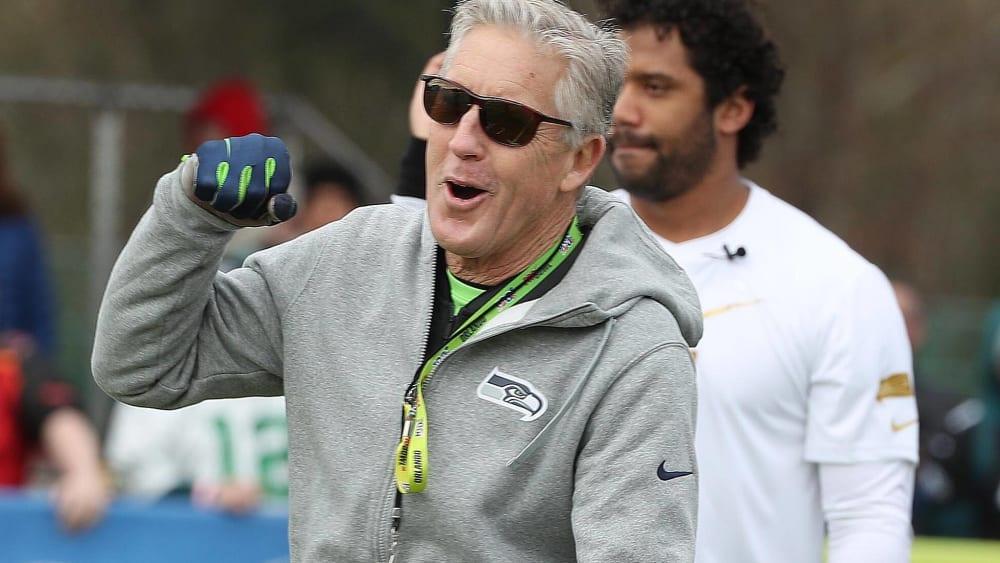 Coachen bis weit über 70: Der ewige Carroll in Seattle?