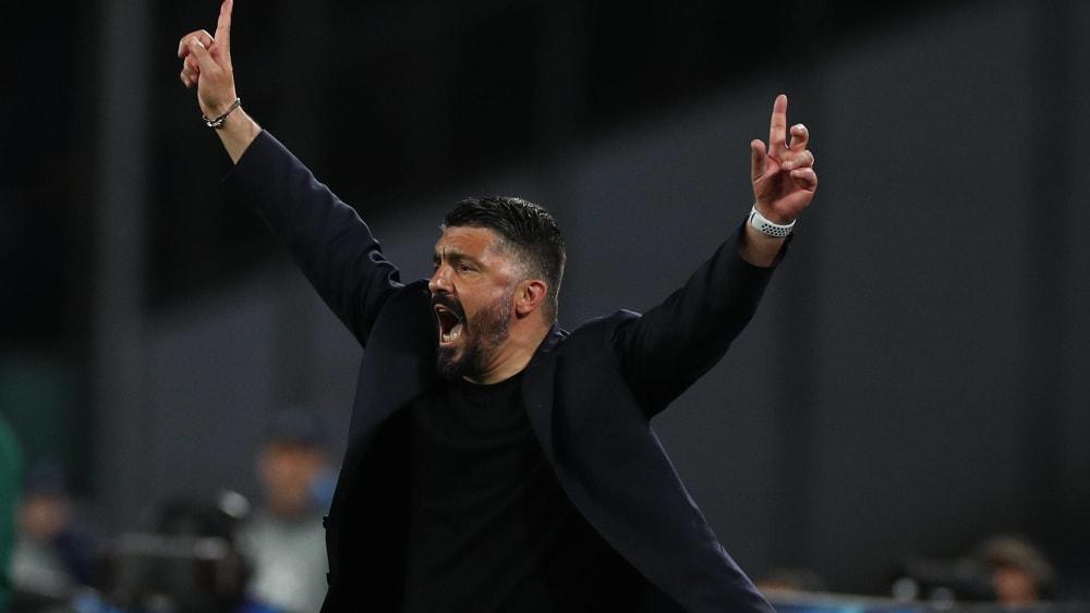 Gennaro Gattuso ist Trainer der SSC Neapel.