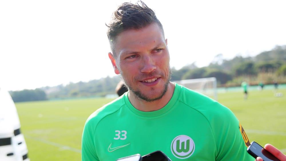 Daniel Ginczek stand beim Wolfsburger Test im Blickfeld