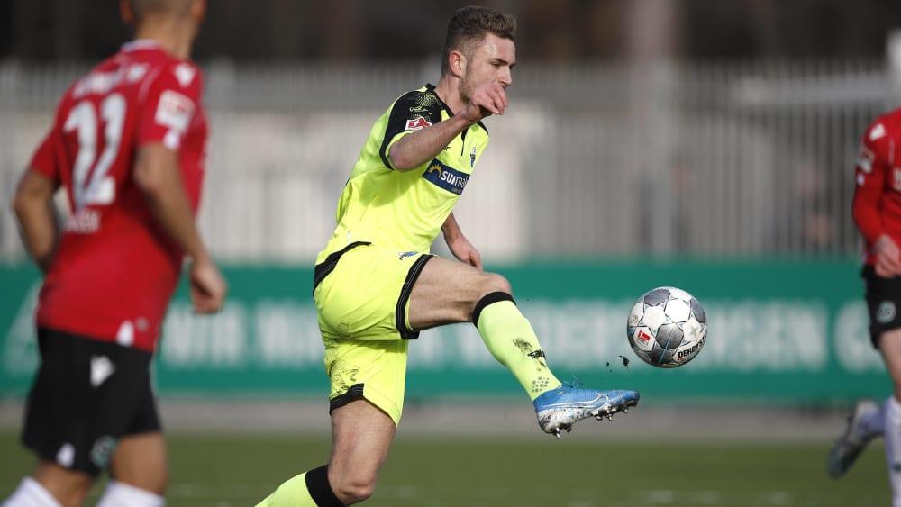 Dennis Srbeny durfte sich bei Paderborns Test eine Halbzeit lang zeigen