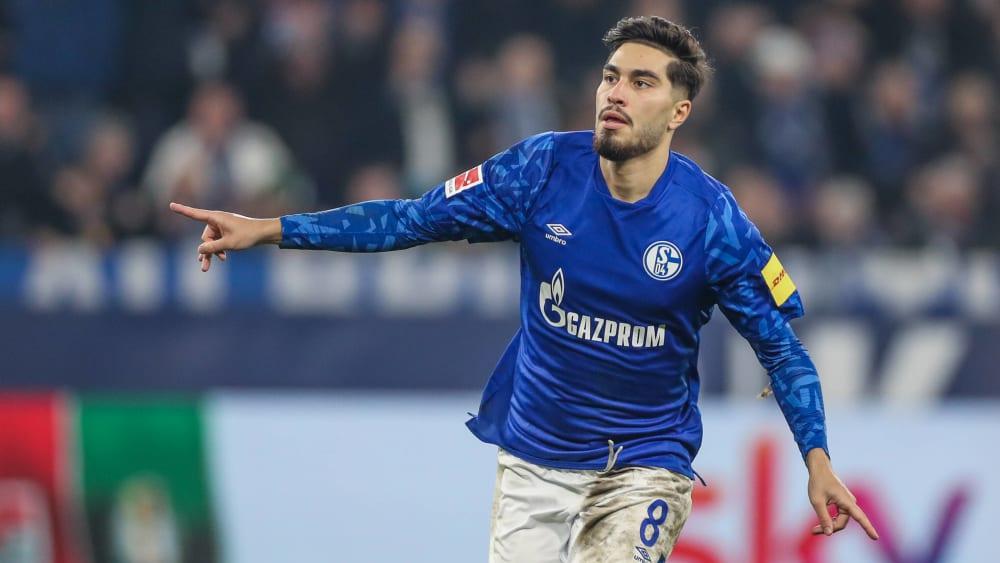 Schalkes Suat Serdar bewies hohe Präzision im Abschluss.