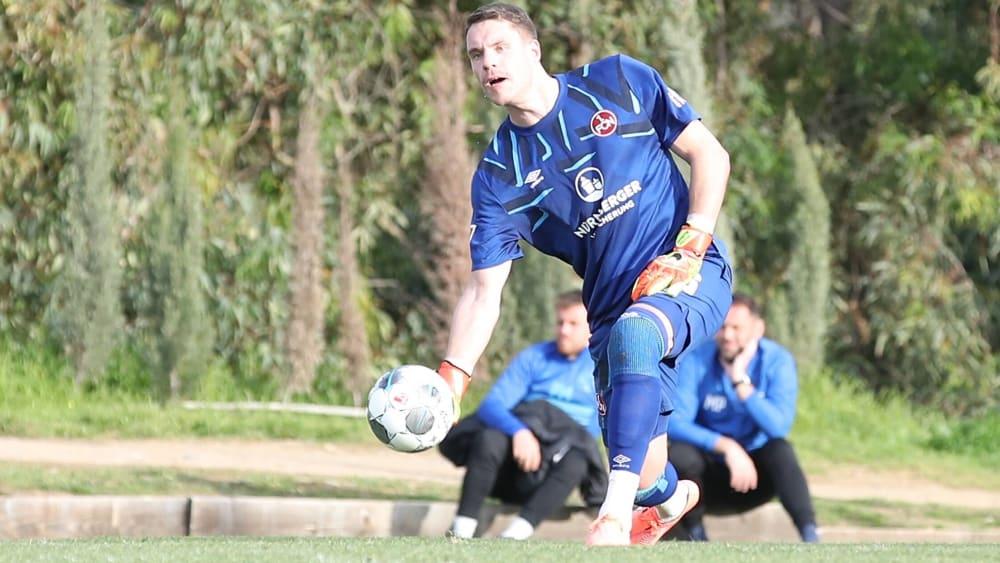 Feierte gegen Osijek sein Comeback: Nürnbergs Keeper Christian Mathenia