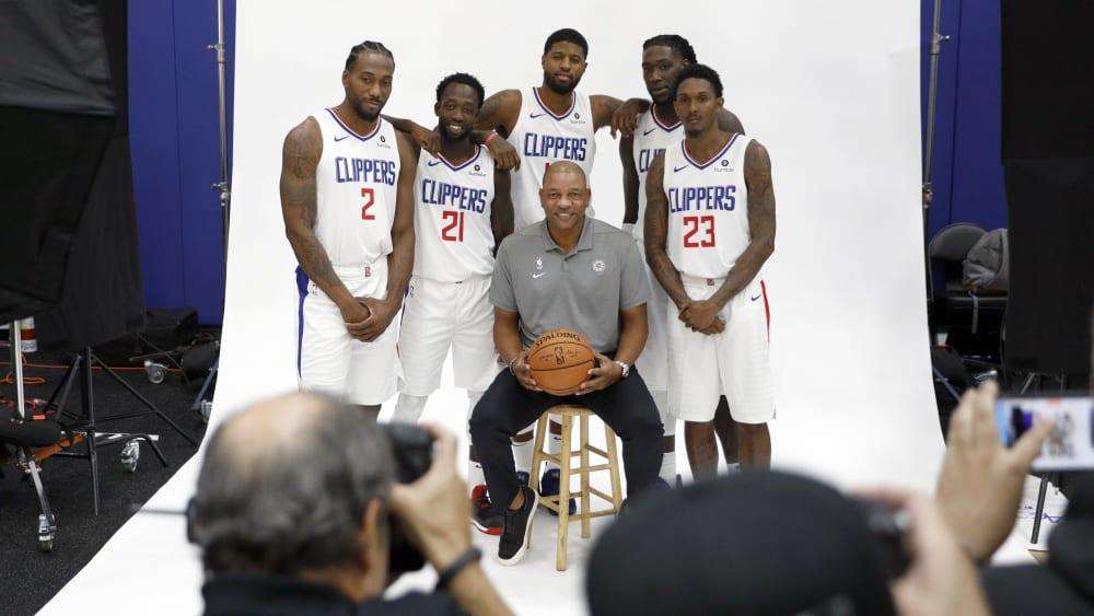 Kawhi Leonard und die Los Angeles Clippers sind bereit