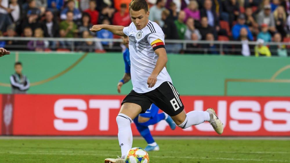 Dennis Geiger von der TSG Hoffenheim brennt auf seinen Einsatz gegen Belgien.