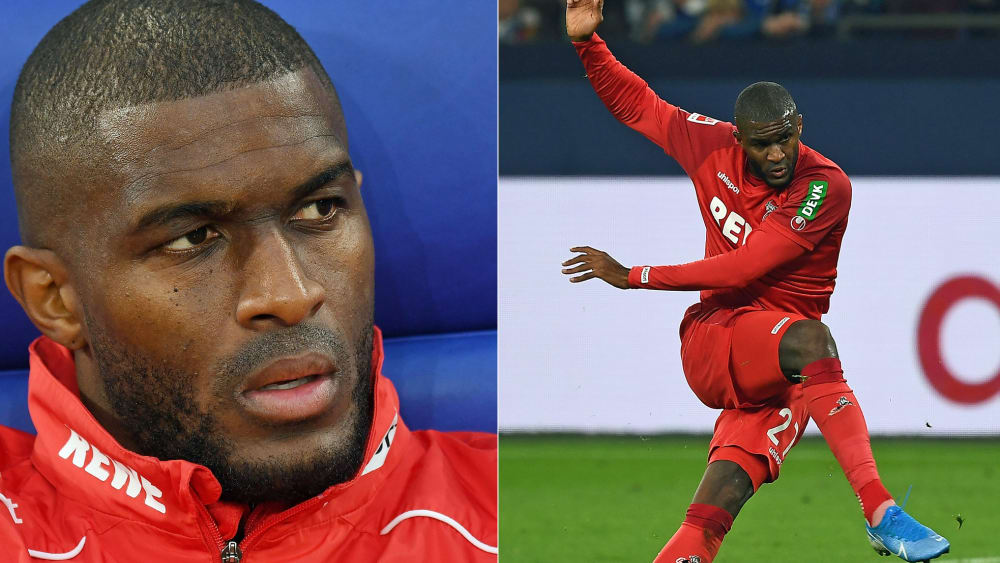 Anthony Modeste: Gute Miene bis sein Moment kam.