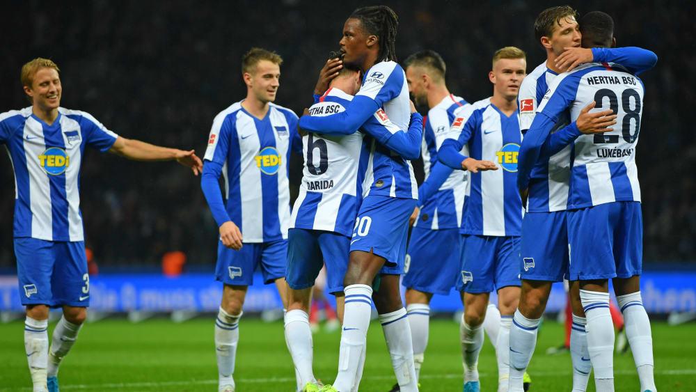 Drei Spiele, drei Siege: Bei der Hertha läuft es derzeit.