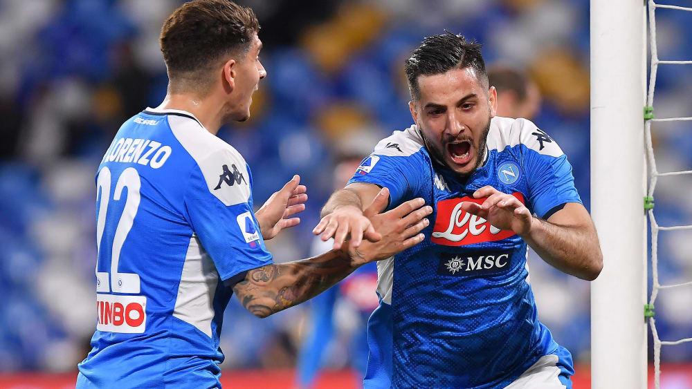 Giovanni di Lorenzo (links) und Kostas Manolas sind Spieler der SSC Neapel.