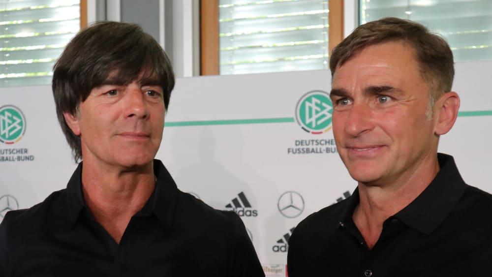 Joachim Löw und Stefan Kuntz