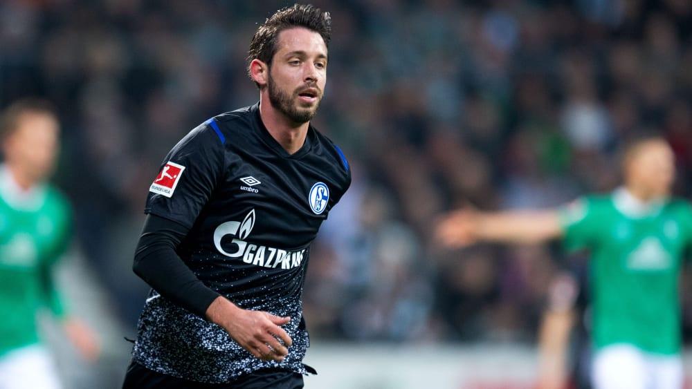 Schalkes Stürmer Mark Uth