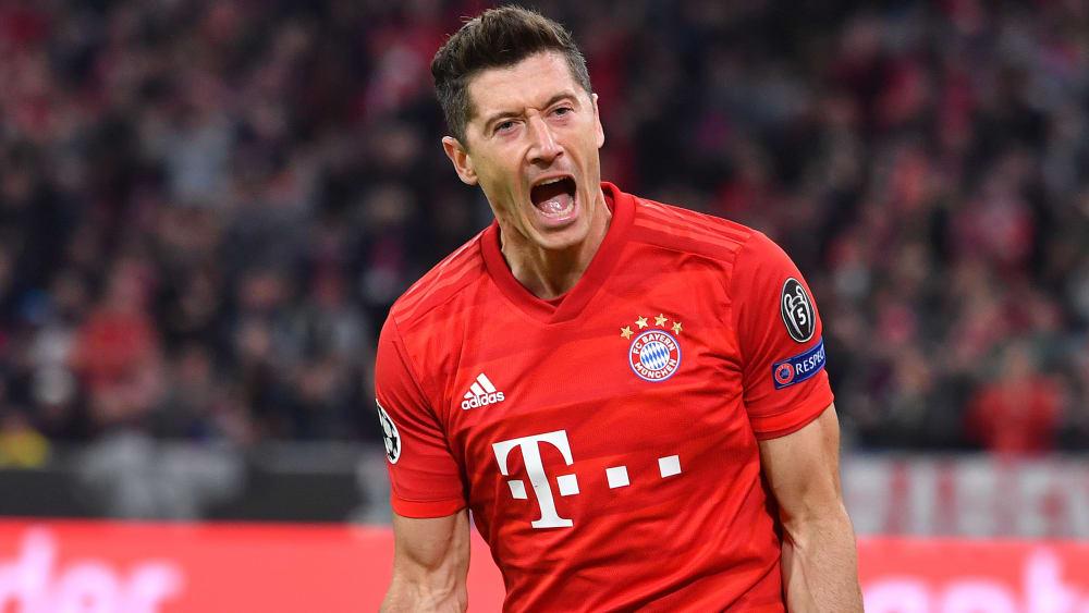 200. Pflichtspieltreffer für den FC Bayern: Angreifer Robert Lewandowski.