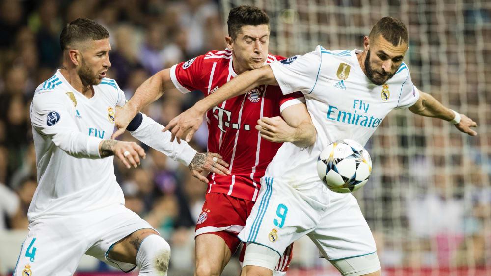 Sergio Ramos, Robert Lewandowski und Karim Benzema in einem Team? Bei Real bemühte man sich mehr als einmal, das möglich werden zu lassen.