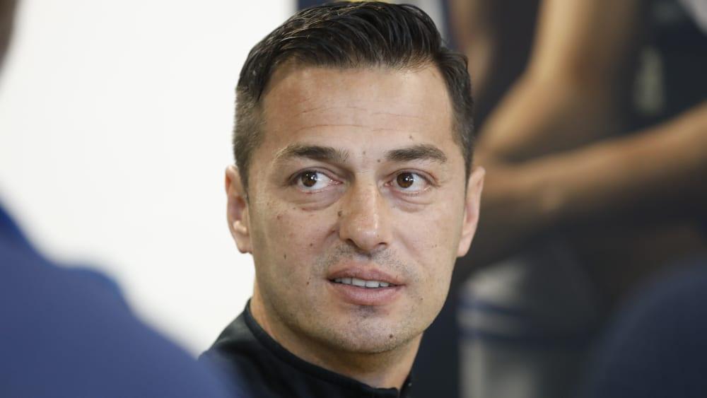 Ante Covic ist Trainer von Hertha BSC.