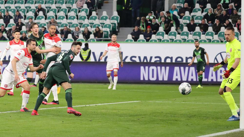 Steffen trifft per Kopf zum 1:1