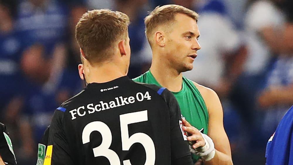 Alexander Nübel und Manuel Neuer