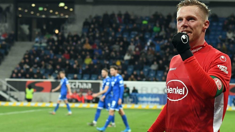 Rouwen Hennings hat für Fortuna Düsseldorf getroffen.