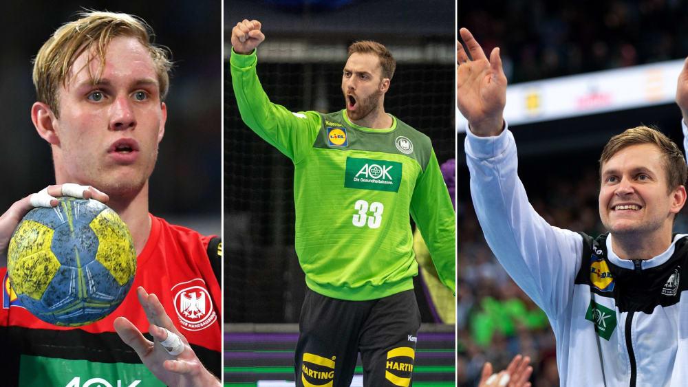 Marian Michalczik, Andreas Wolff, Fabian Böhm