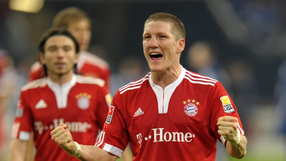 Im zentralen Mittelfeld schafft er es in die Weltklasse: Bastian Schweinsteiger.