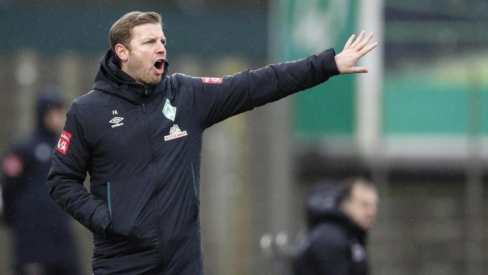 Florian Kohfeldt ist Trainer des SV Werder Bremen.