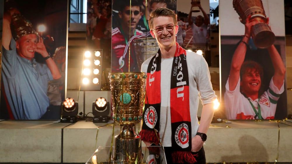 Freut sich auf die erste Pokalrunde: Nico Toppmöller vom FSV Salmrohr.
