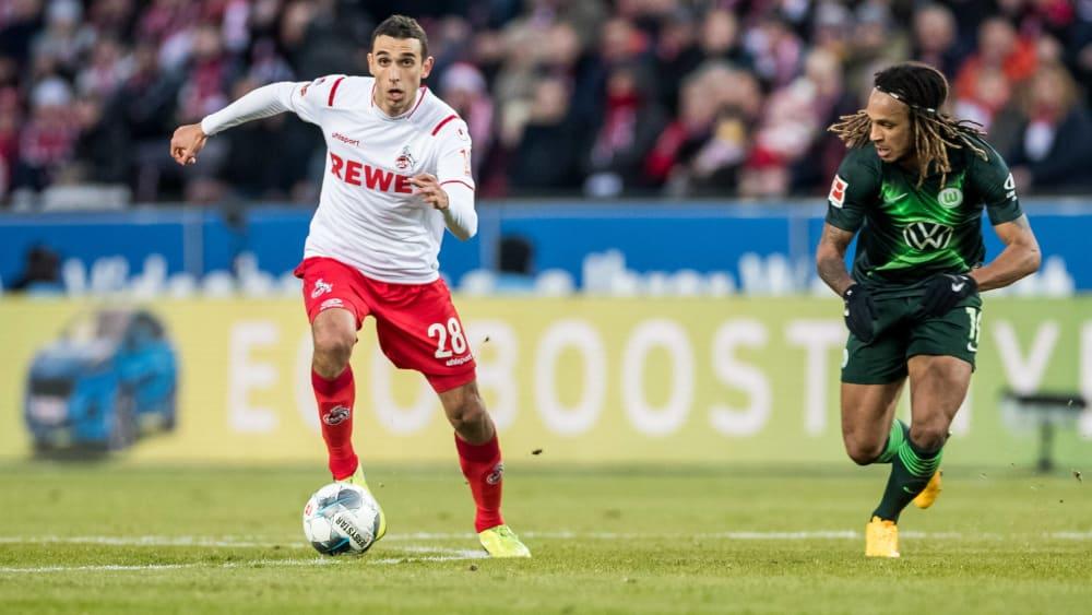 Kölns Neuzugang Ellyes Skhiri spult Spiel für Spiel meist deutlich über 12 Kilometer ab.