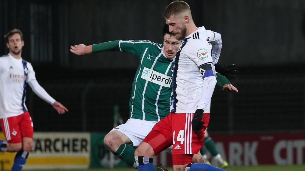 HSV-Kapitän Aaron Hunt hat seinen Bänderriss ausgeheilt.