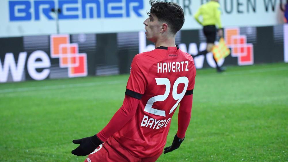 Kai Havertz hat laut Bayer-Trainer Peter Bosz den Kopf wieder frei.