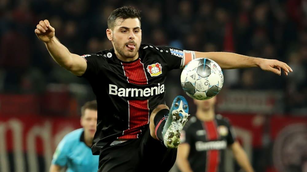 Bayer Leverkusens Kevin Volland hat Großes vor im kommenden Halbjahr.