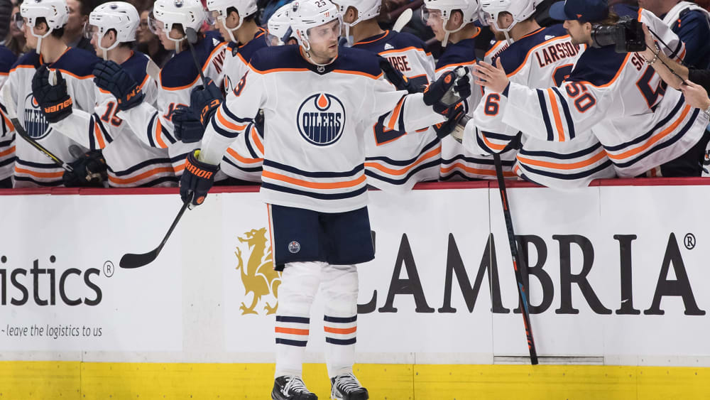 Leon Draisaitl von den Edmonton Oilers