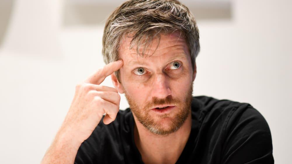 Bundestrainer der DAV-Sportkletter: Urs Stöcker.