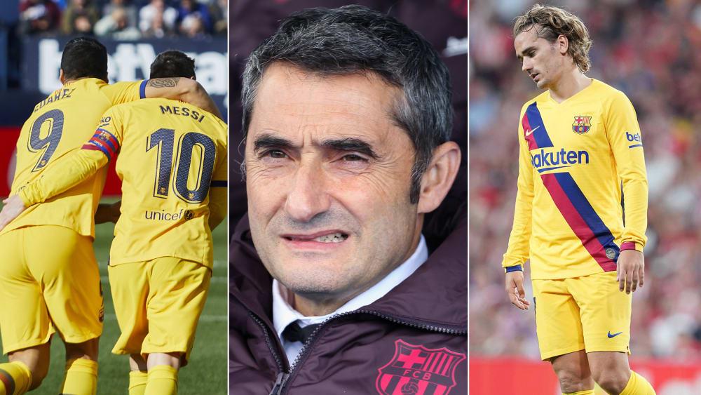 Suarez, Messi, Valverde und Griezmann wollen den Gruppensieg festzurren