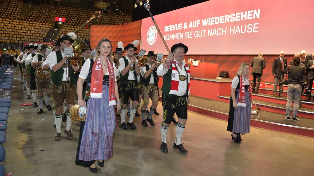 Jahreshauptversammlung Bayern München 2021