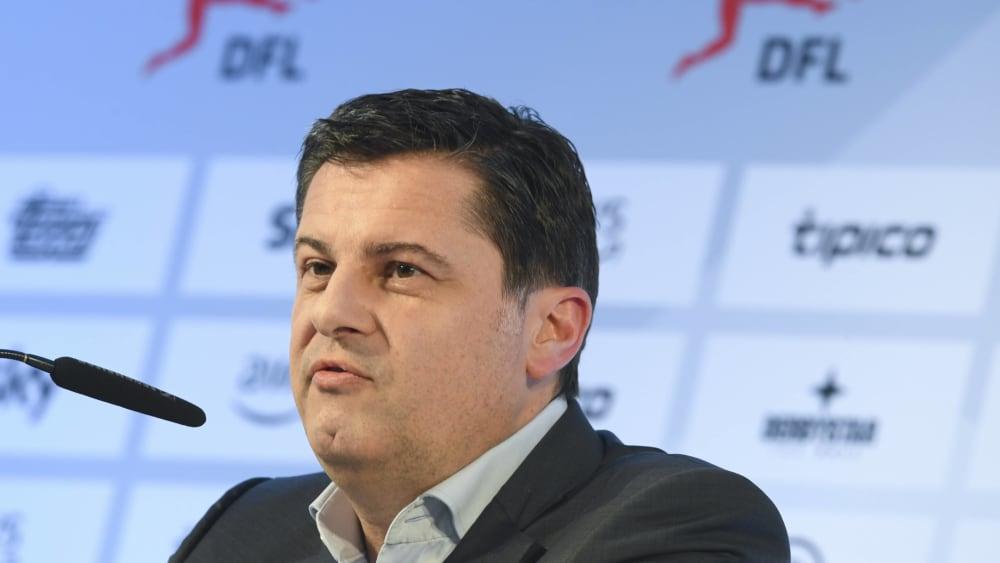 Präsidiumssprecher Christian Seifert