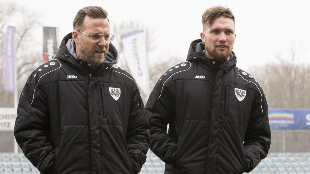 Sascha Hildmann und Jan Löhmannsröben