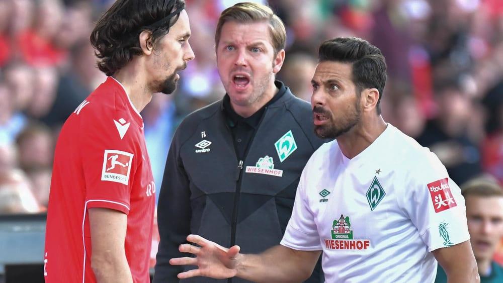 """Kohfeldt: """"Dann verlasse ich jedes Mal die Coaching Zone"""" - Gelbe Karte nach verständlicher Reaktion an der Seitenlinie"""