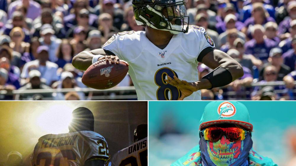 Mit Yard-Maschine Jackson - 11 Geschichten zum zweiten NFL-Spieltag - Best of NFL 2019 - Week 2