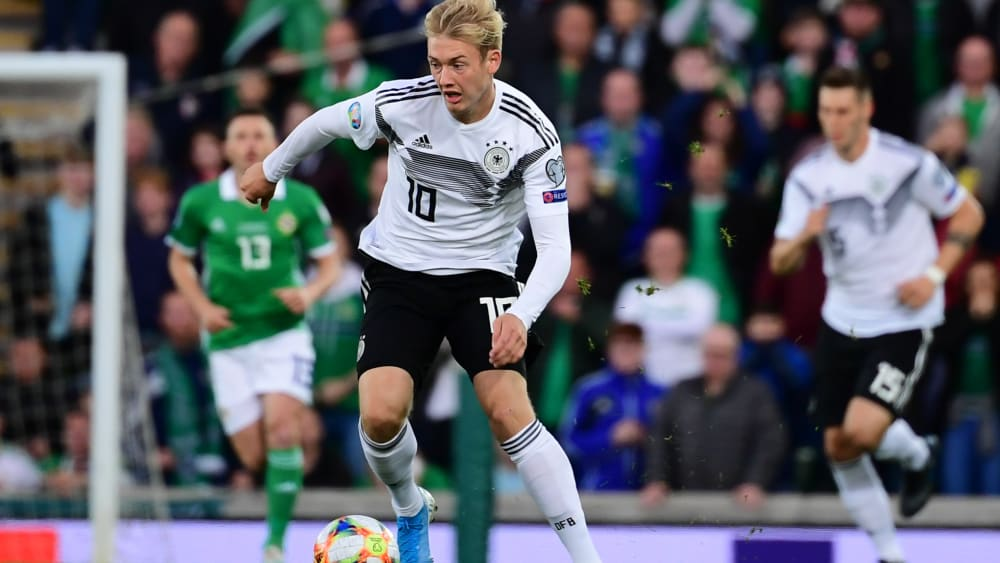 Hat gute Chancen auf einen Startelfeinsatz gegen Argentinien: Der Dortmunder Borusse Julian Brandt.