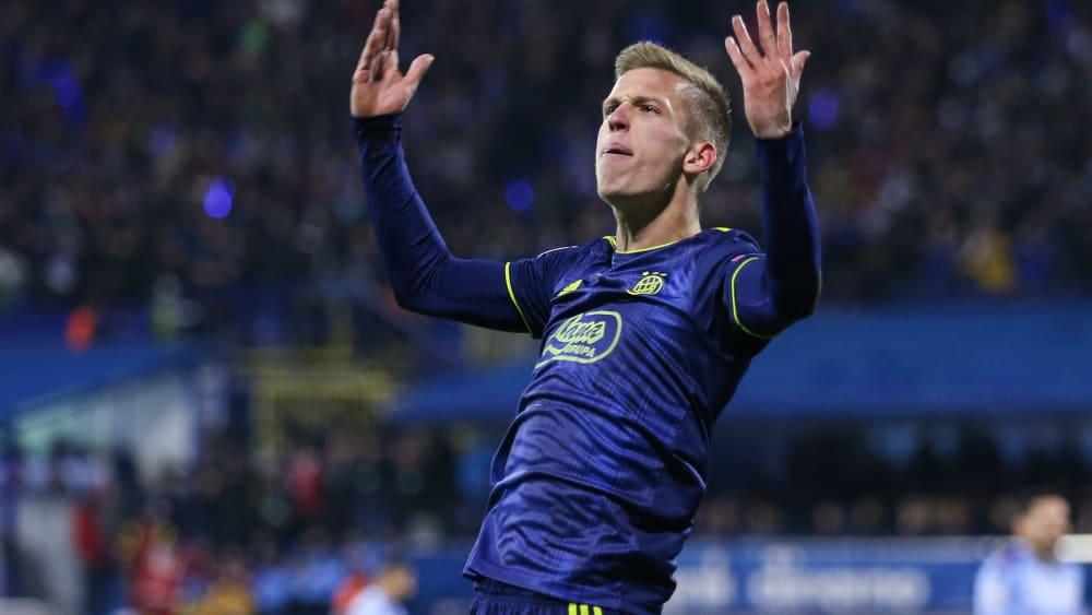 Dani Olmo ist Spieler von Dinamo Zagreb.