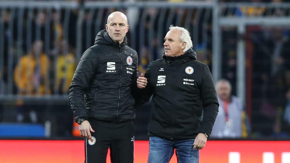 Marco Antwerpen (li.) und Peter Vollmann