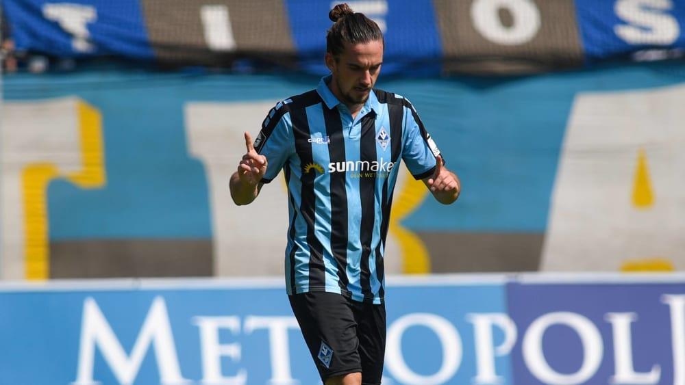 Valmir Sulejmani eröffnete den Torreigen gegen den FSV Mainz 05 II (Endstand: 5:2).