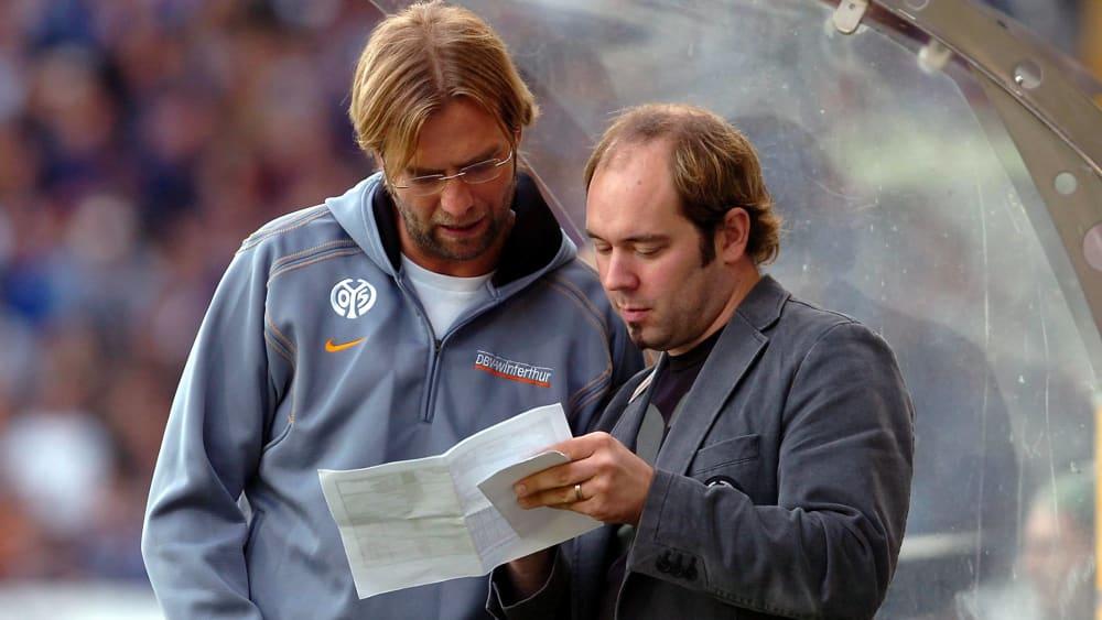 Jürgen Klopp und Axel Schuster
