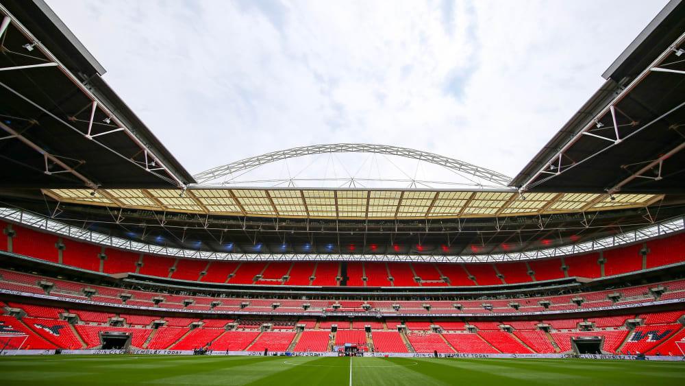 Endspielort 2021: das Wembley-Stadion in London.