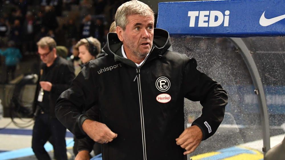 """Funkel und der ominöse Strich: """"Na und?"""" - Wie Fortuna das Hertha-Spiel vergessen machen will"""