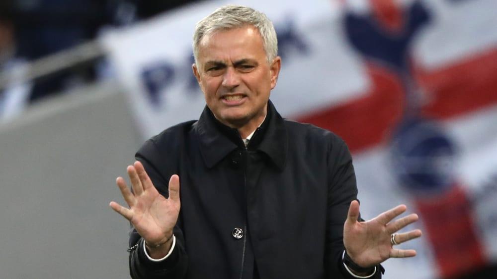 Bislang stimmen die Zahlen: Spurs-Trainer José Mourinho.