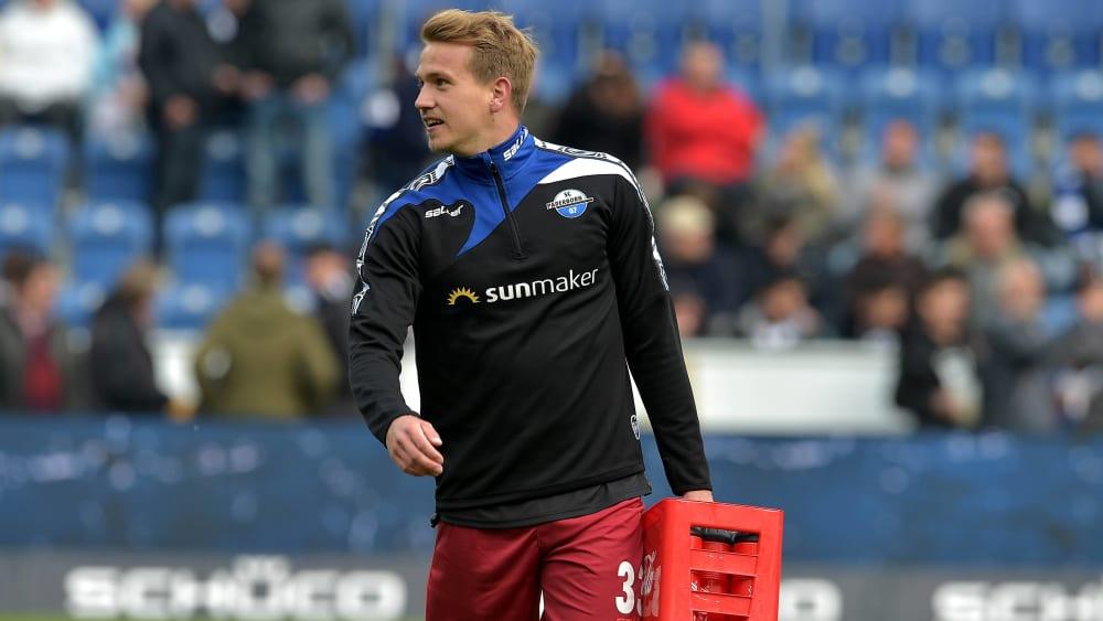 Zu oft blieb nur die Rolle des Auswechselspielers: Lukas Boeder wechselt zum MSV Duisburg.